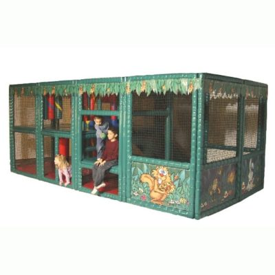 Tot Town Contained Play Jungle - Dimensions