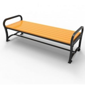 Charleston Recycled Bench without Back
