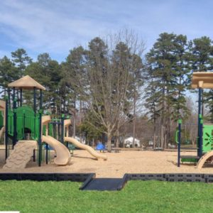 APS Border Install in Community Park