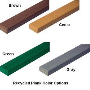 UltraSite Recycled Plank Colors