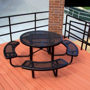 Extra Heavy-Duty Thermoplastic Round Table