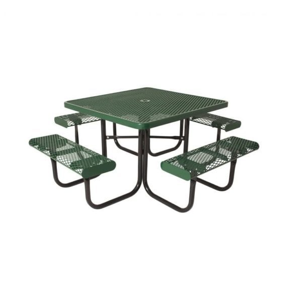 Extra Heavy-Duty Thermoplastic Square Table