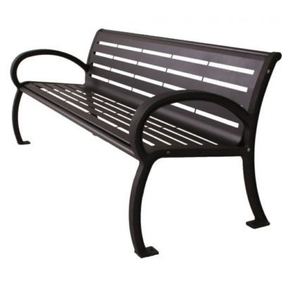 Wilmington Series Bench - Horizontal Slats