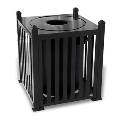 Savannah Series Trash Receptacle - Slat Pattern