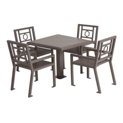 "36"" Square Huntington Table with 4 Chairs - 50SM-HX"