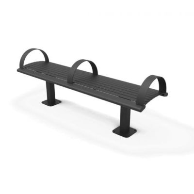 Richmond Steel Bench without Back - 82CSM-HS6