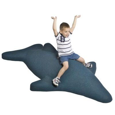 Boy with Rubber Dolphin