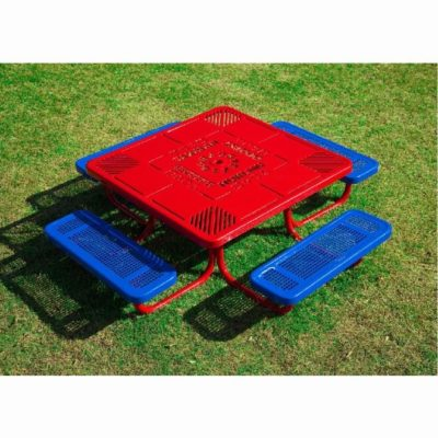 Portable Preschool Learning Table with Learning Table Top