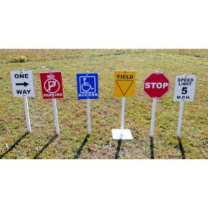 Access Signs - Set of Six