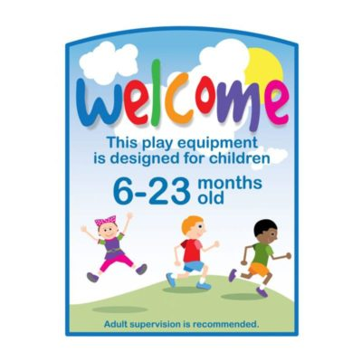Playground Welcome Sign